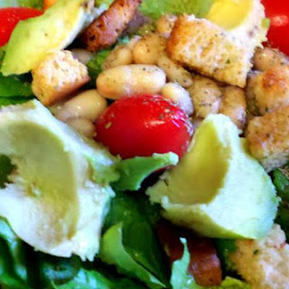 Avocado and Cannellini Bean Salad