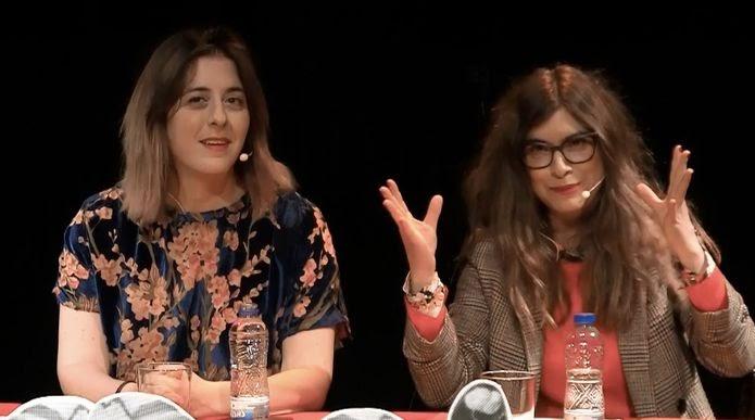 Isabel Calderón y Lucía Lijtmaer