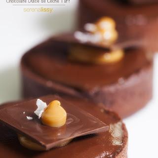 Chocolate Dulce de Leche Tart.
