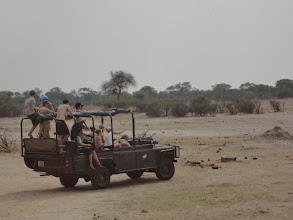 Photo: The other safari car