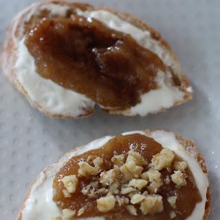 Fig and Mascarpone Slices