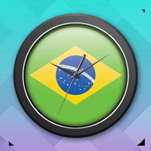 Brazil Clock Live Wallpaper