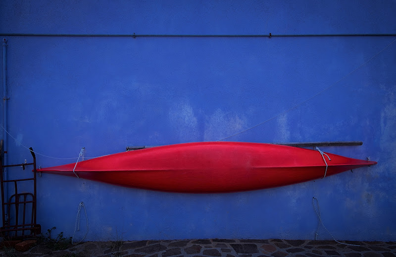 la mia canoa rossa di Giovi18