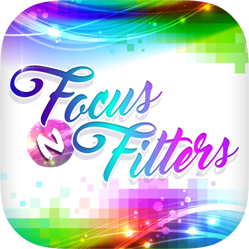 Focus n Filter - Stylish Text Icon