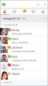 TDS managedIP Hosted Mobile UC screenshot 0