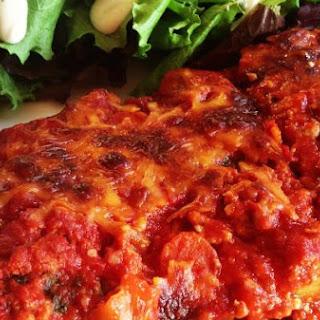 Zucchini & Bolognese Bake