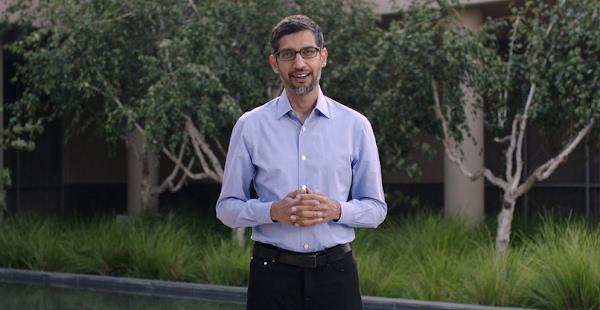 Sundar Pichai, CEO do Google