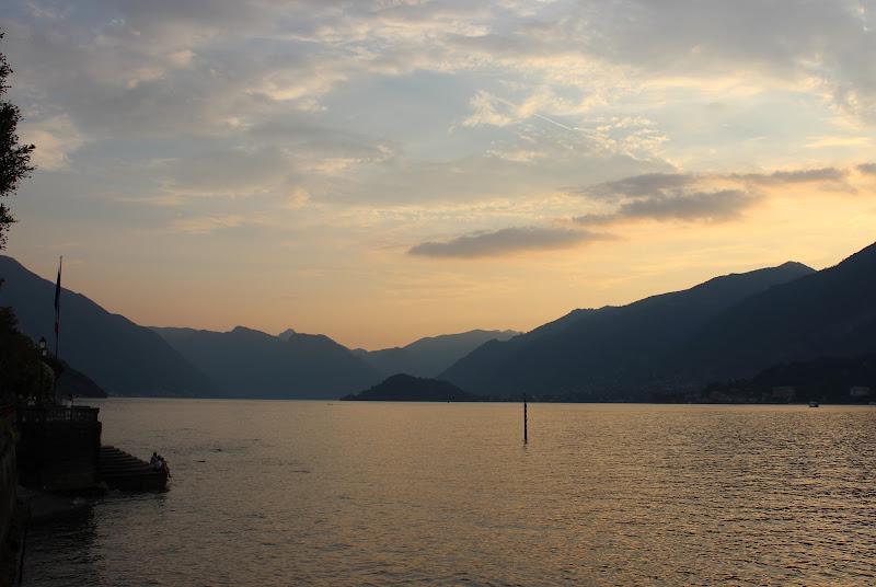 Tramonto sul Lago di Como di Flavy
