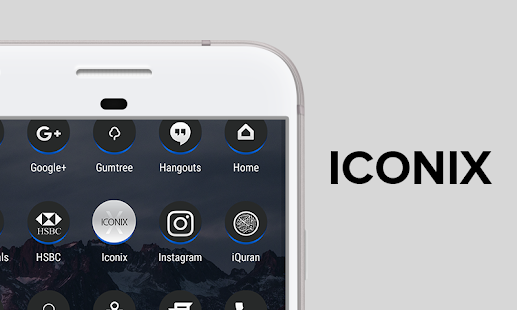 ICONIX - Icon Pack - náhled