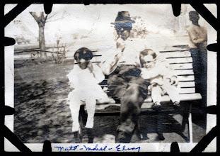 Photo: Tom Brandvold Album TBB024 /  Madts, Mabel, and Elroy Fjelstad
