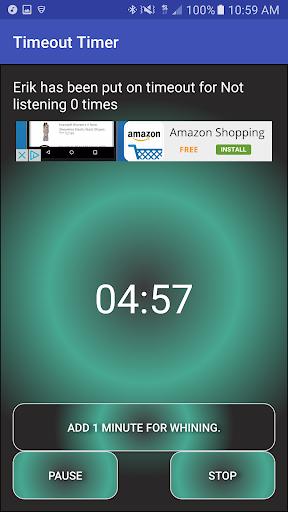 玩免費遊戲APP|下載Timeout Timer app不用錢|硬是要APP