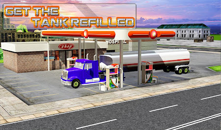 Modern Truck Driving 3D 1.1 screenshot 40684