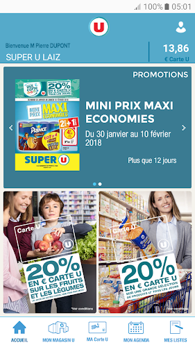 Mon Magasin U : Promos et CARTE U Android App Screenshot