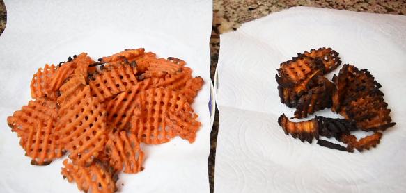Copper Crisper Frozen Fries Test 4