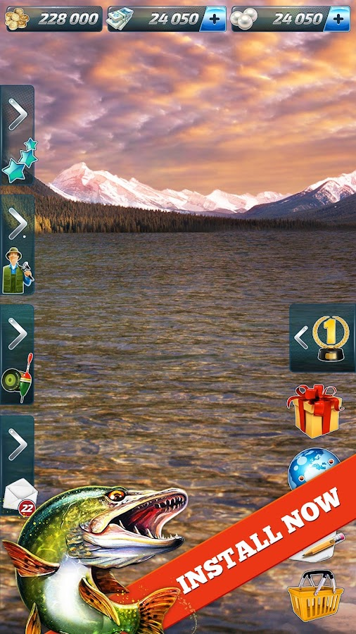 Let's Fish: Sport Fishing Games. Fishing Simulator- screenshot