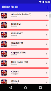 British Radio - UK Radio - náhled