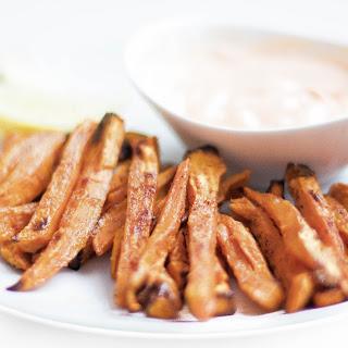 Crispy Oven-Baked Sweet Potato Fries (GF, Vegan, Paleo, Whole 30) Recipe