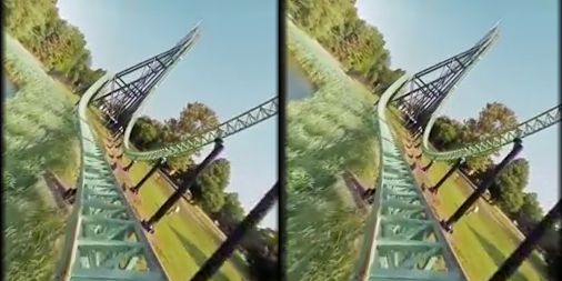 VR Thrills: Roller Coaster 360 (Google Cardboard) APK screenshot thumbnail 15