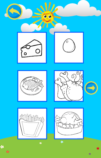 免費下載教育APP|Coloring Book : Food app開箱文|APP開箱王