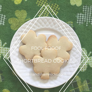 Fool Proof Shortbread Cookies