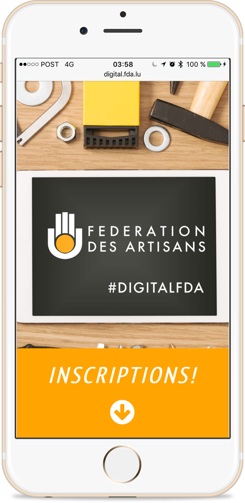 #digitallunchtime Inscription