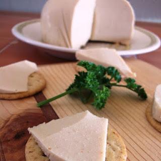 Hard Smoked Cashew Cheese