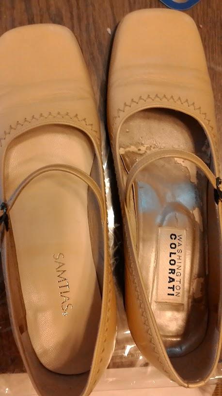靴底の補修