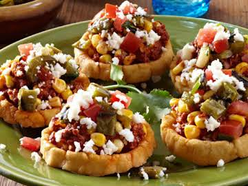 Mexican Grilled Corn Appetizers