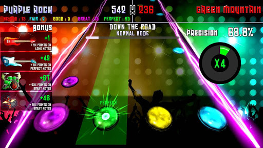 Rock Battle - Rhythm Music Game 1.18 Mod screenshots 1