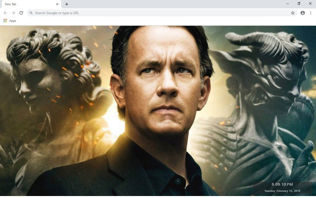 Tom Hanks New Tab & Wallpapers Collection