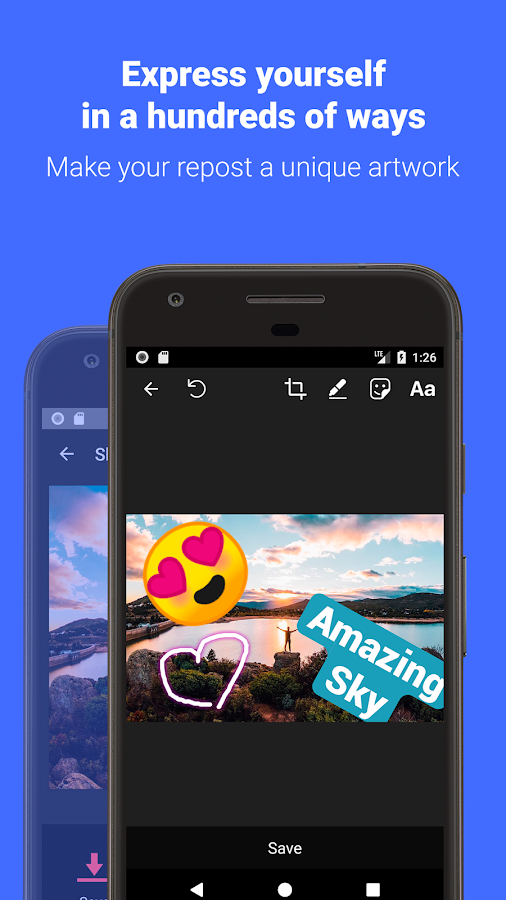 Repost – Photo & Video Download And Save- screenshot