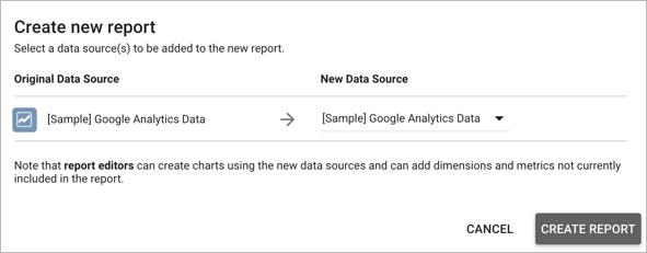 Sample reports and templates Data Studio Beta Help