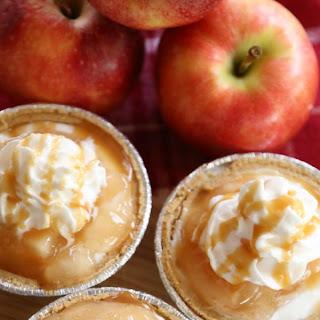 Mini No-Bake Caramel Apple Cheesecakes Recipe