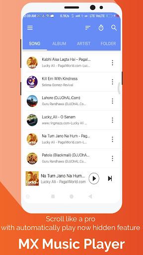 MX Music Player-Free Online & Offline Music Player 1.5.0.5 screenshots 2