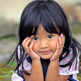beautiful child by Irawan Taruno - Babies & Children Child Portraits (  )