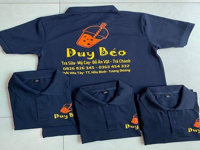 Mẫu áo thun quảng cáo