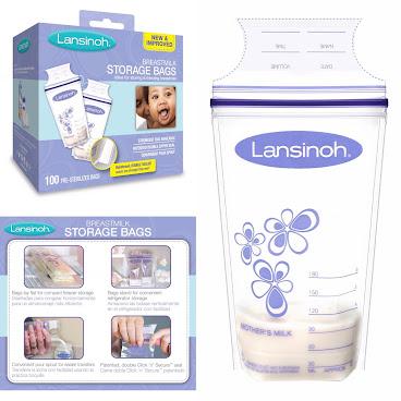 Lansinoh 即棄式母乳儲奶袋