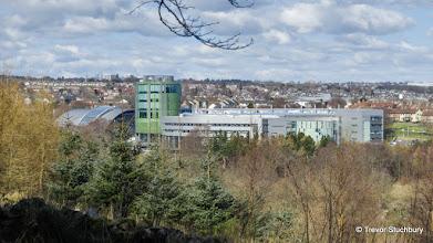 Photo: Riverside East, Robert Gordon University from Tollohill