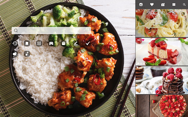 My Recipes Hd Wallpapers New Tab Theme