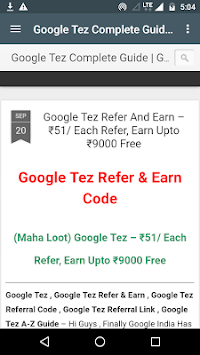 TEZ Payment Guide APK Latest Version Download - Free News