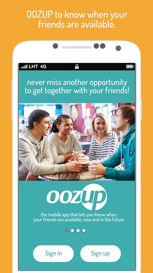 oozup - who's available ?- screenshot