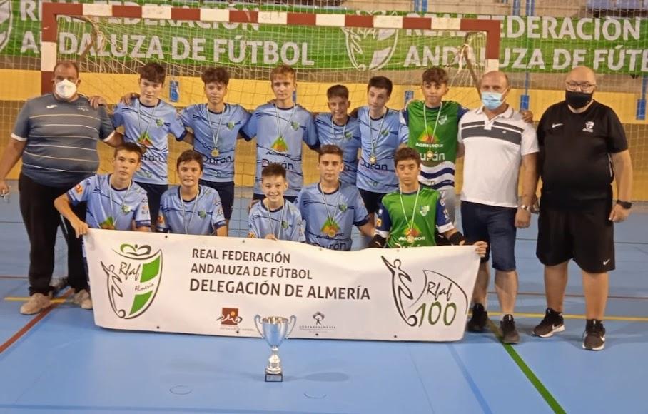 Los infantiles del CD El Ejido Futsal son campeones.