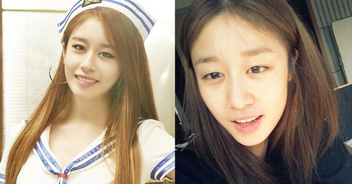 Fans Point Out Female Idols Who Look Completely Different Without Makeup Koreaboo