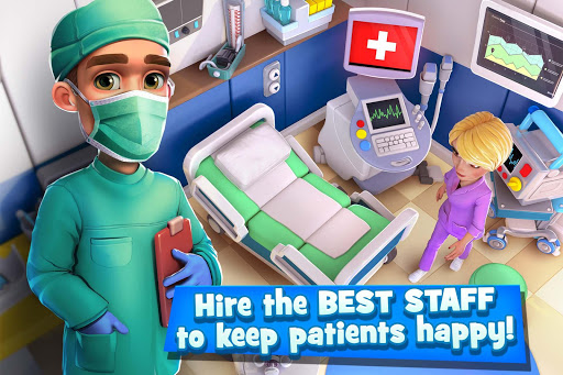 Dream Hospital - Health Care Manager Simulator 1.7.4 screenshots 1