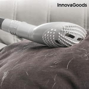 Perie de curatat parul animalelor, pentru aspirator, InnovaGoods