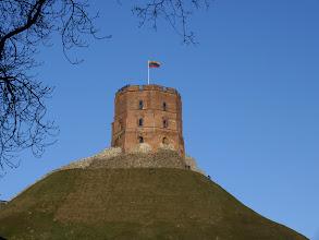 Photo: Vilnius. Gedimino bokštas.