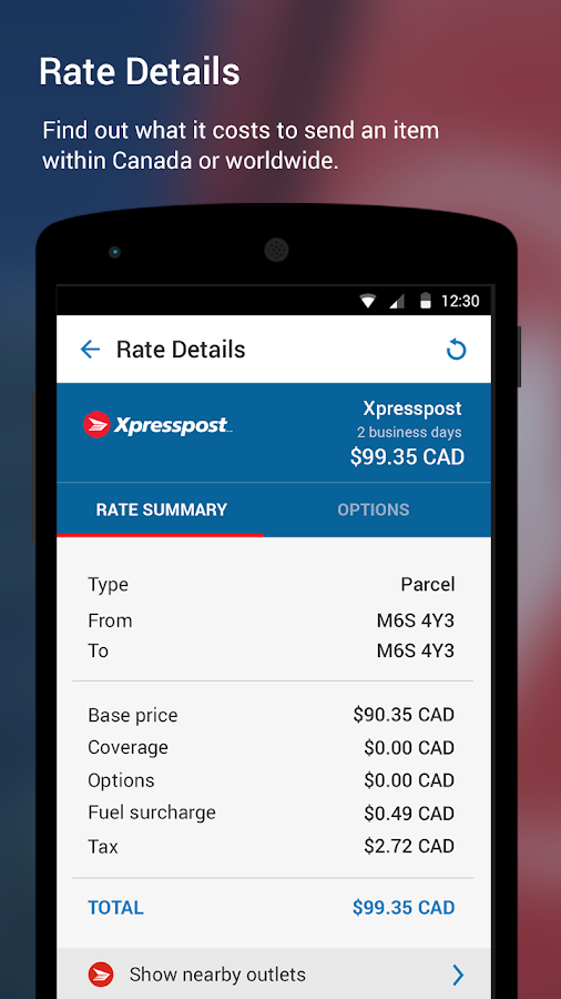 Canada Post Corporation- screenshot