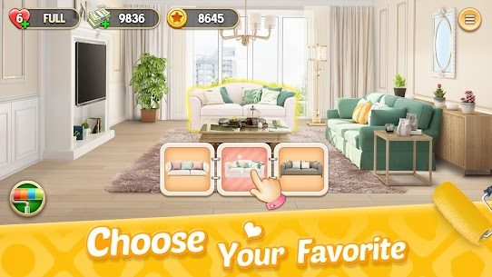 My Home Design Dreams Mod Apk (Unlimited Money + Lives) 2