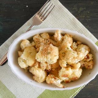 Roasted Cauliflower.
