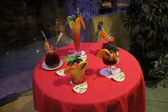 Photo: Coupe de sangria pour la soirée espagnole ...